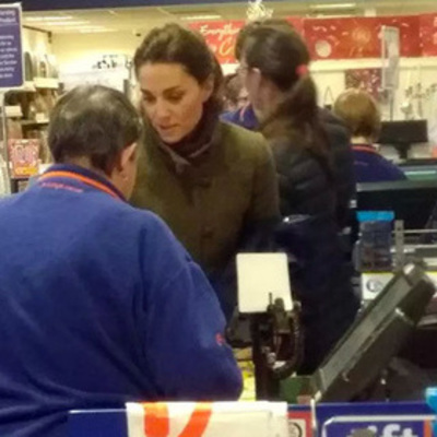 Кейт Миддлтон пошла за покупками в магазин для «для бедных»