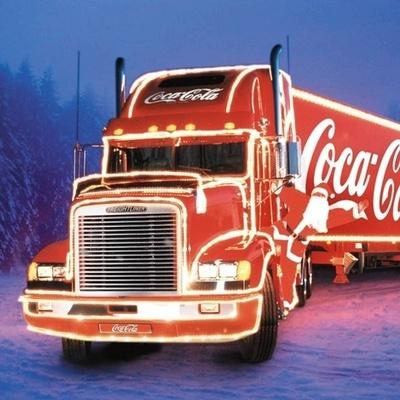 В Киев приедет легендарный грузовик Сoca-Cola