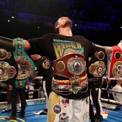 Усик признан боксером года по версии The Ring, Анатолий Ломаченко — лучший тренер