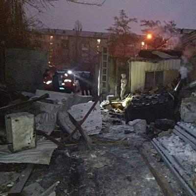 В Киеве снесло полдома из-за взрыва отопительного котла