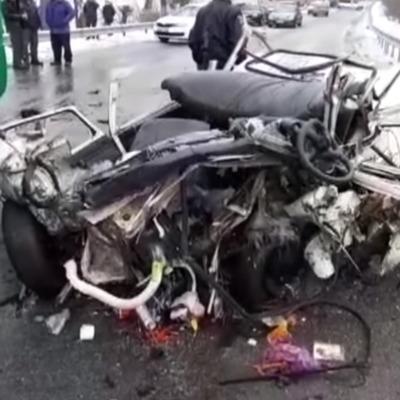 Смертельное ДТП на Киевщине: три человека погибли, четверо доставлены в больницу (видео)