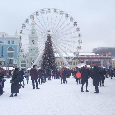 Сегодня в Киеве пройдут праздничные рождественские мероприятия
