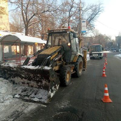 В Киеве испытывают две снегоплавильные установки, которые позволят эффективнее расчищать город