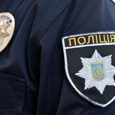 В столице группа неизвестных заблокировала офис одного из подразделений Национальной полиции Украины
