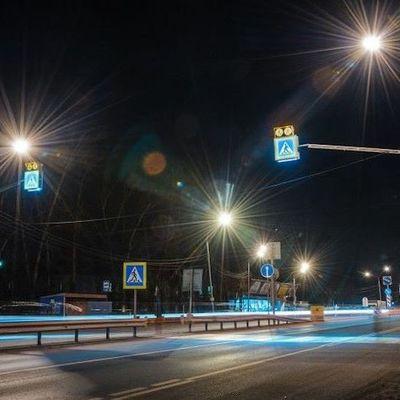 В Киеве 12 пешеходных переходов оборудуют сенсорным освещением