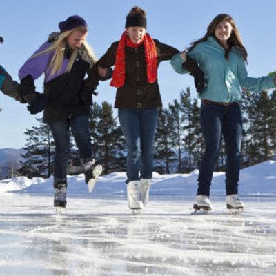 Где в Киеве можно покататься на коньках на свежем воздухе