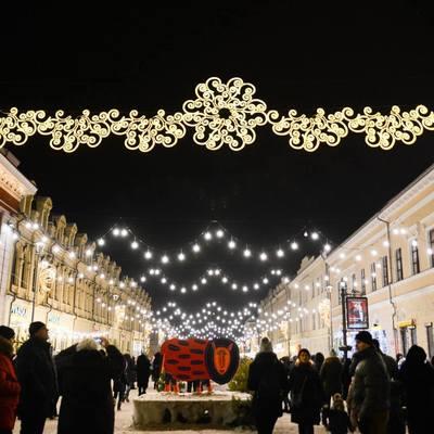 Стало известно, сколько мяса и глинтвейна употребили посетители киевских новогодних ярмарок