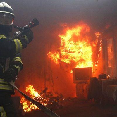 В Запорожской области в результате пожара погибло трое людей, среди них двое детей