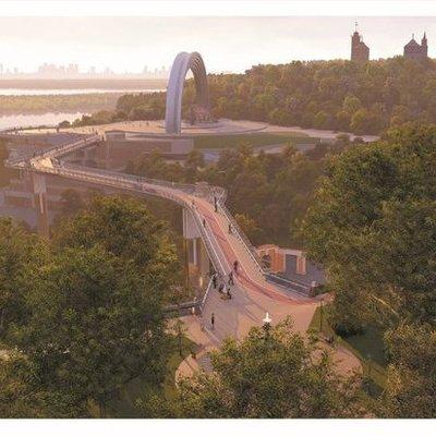 Ко Дню Киева откроется новый мост