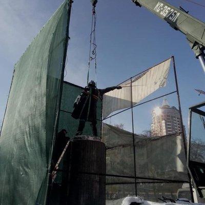 В столице демонтировали памятник Суворову
