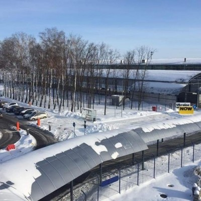 В аэропорту Борисполь построят автостанцию на 16 платформ