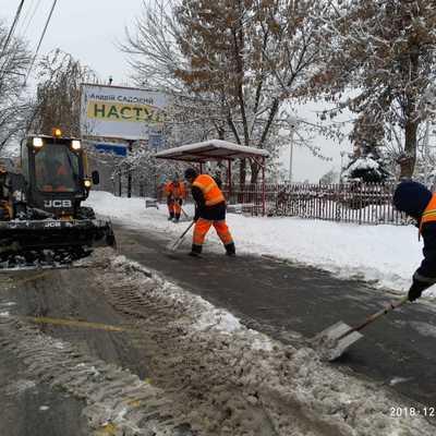 В Киеве снегоуборочная техника перешла на круглосуточный режим работы