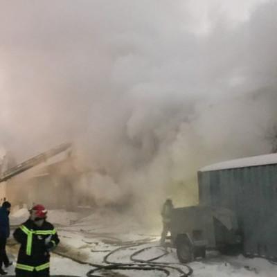 В Киеве горел радиозавод