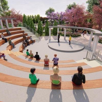 В парке на Троещине построят амфитеатр (фото)