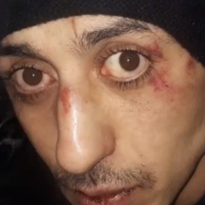 В Киеве водитель маршрутки избил вора (видео)