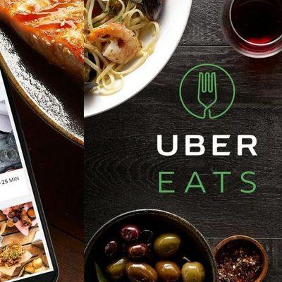 В Киеве заработал сервис доставки еды UberEats