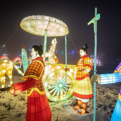 Очень красиво: в столице открылся Фестиваль гигантских китайских фонарей (фото)