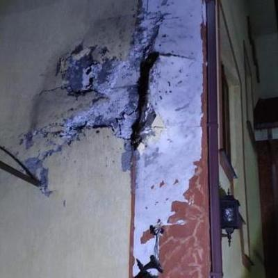На Закарпатье из гранатомета обстреляли жилой дом (фото)
