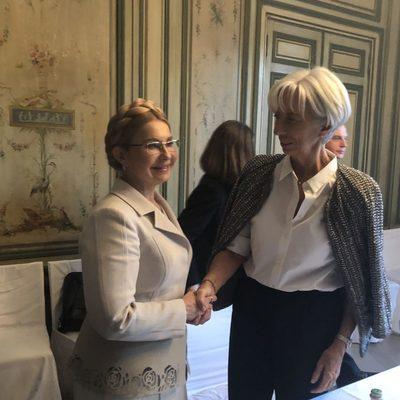 Это наша твердая позиция, - Юлия Тимошенко объяснила директору МВФ Кристин Лагард, почему цена на газ для Украинских после выборов будет снижена минимум вдвое