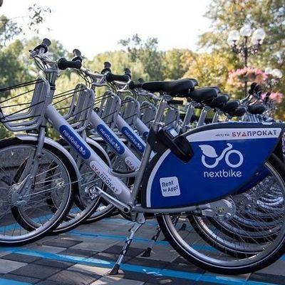 В Киеве станет больше станций велопроката Nextbike