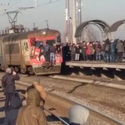 В Киеве городская электричка снова ходит,