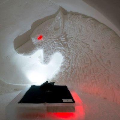 В Финляндии открылся снежный замок по мотивам «Игры престолов» (фото)