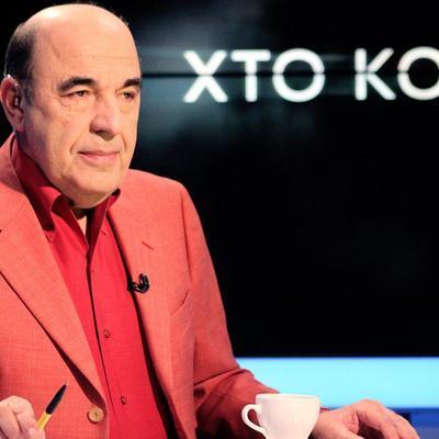 Рабинович: Власть понимает, что только Медведчук может прекратить войну и установить мир