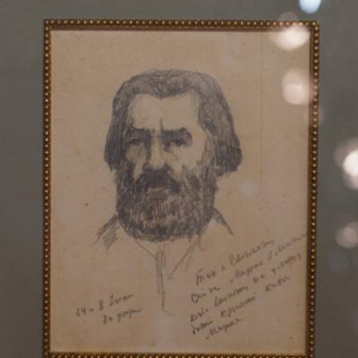 В Киеве покажут автопортрет Малевича, который он создал за 11 месяцев до смерти