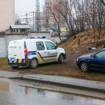 В Киеве на пустыре нашли человеческие останки