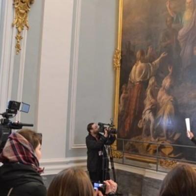В Андреевскую церковь вернули уникальную картину