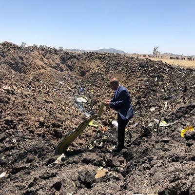 Крушение авиалайнера в Эфиопии: никто не выжил