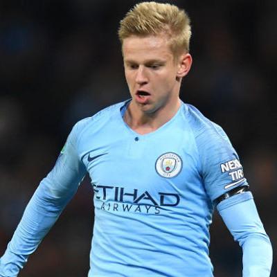 Украинец стал лучшим игроком Манчестер Сити в феврале
