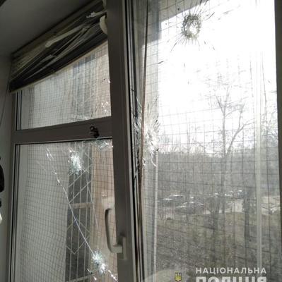 В Киеве обстреляли здание суда