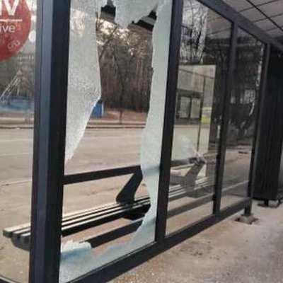 Опять вандалы: уничтожена очередная остановка