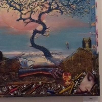 В Киеве открыто творческую выставку художников-военнослужащих (фото)