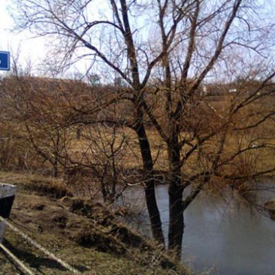 Речку Рось загрязняют фекалиями жители окрестных сел