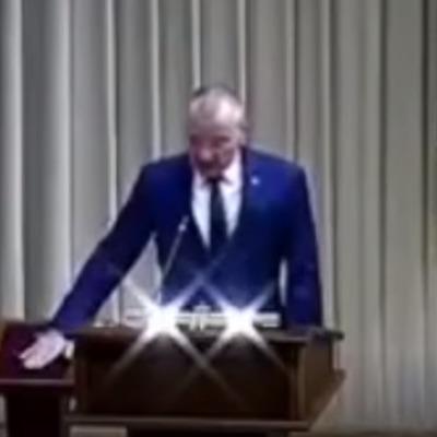 Российского мэра ввели в должность под музыку из