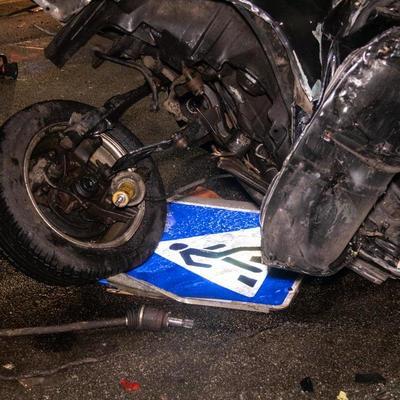 На Северном мосту в Киеве произошло смертельное ДТП (фото)