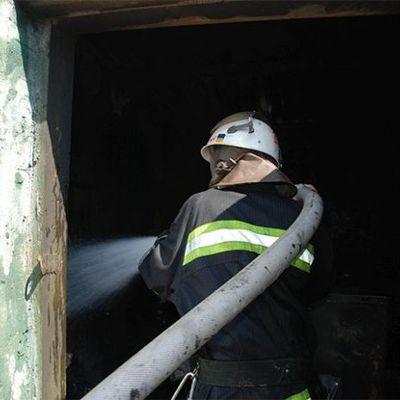 В Винницкой области горит птицефабрика