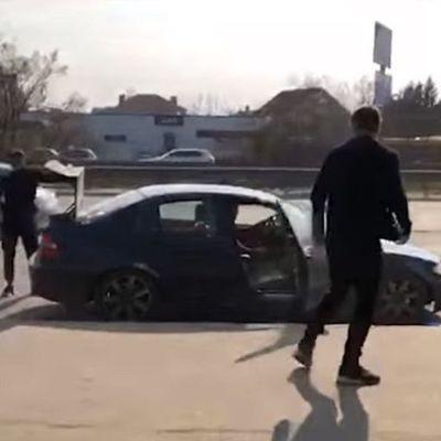 В Киеве похитили человека для социального эксперимента (видео)