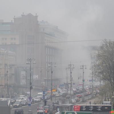 В центре Киева возле мэрии прозвучали взрывы