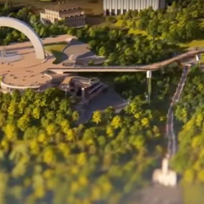 Стало известно, когда в Киеве откроют пешеходный мост на Владимирскую горку (видео)