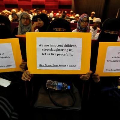 На Шри-Ланке запретили носить паранджу