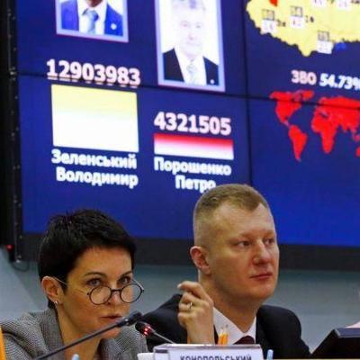 ЦИК официально объявила победителя выборов президента Украины