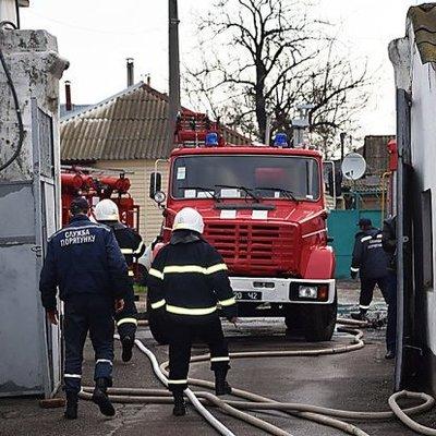 В центре Киева заживо сгорели два человека