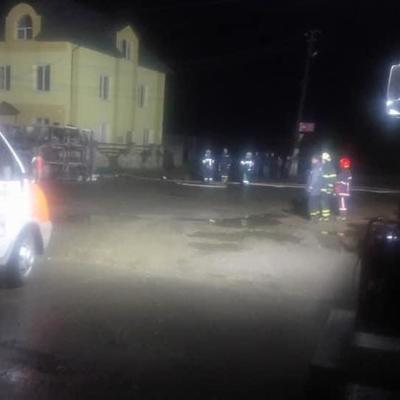 На Ивано-Франковщине перевернулся бензовоз с почти 40 тоннами горючего