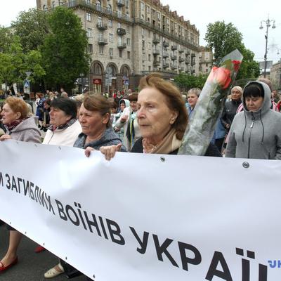 В Киеве проходит Шествие матерей