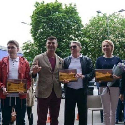 На «Площади звезд» в Киеве увековечили имена еще трех выдающихся украинцев