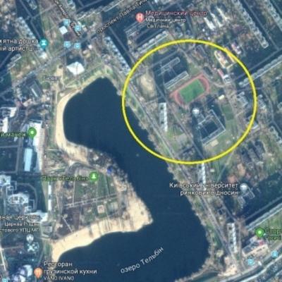 В Киеве продают землю рядом со школой под строительство ЖК