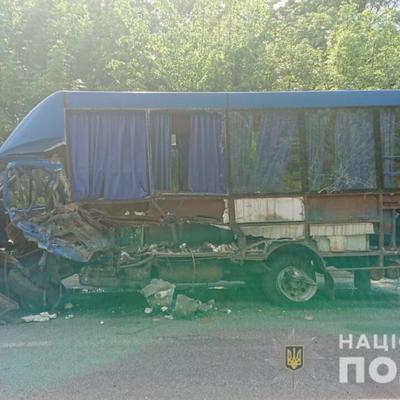 Смертельное ДТП в Винницкой области: маршрутка столкнулась с легковушкой (фото)